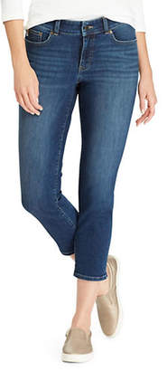 Chaps Petite Slim-Fit Stretch Capri Jeans