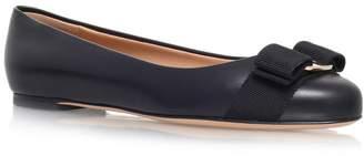 Salvatore Ferragamo Leather Varina Flats