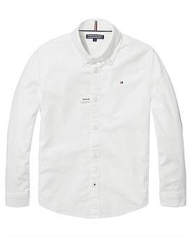Tommy Hilfiger Ame Stretch Oxford Shirt L/S (Boys 3-7 Years)