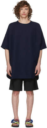 House of the Very Islands Blue Long Front Pocket 3D T-Shirt