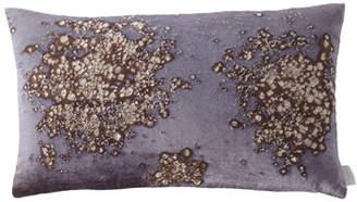 """Aviva Stanoff Mineral on Midnight Moon Pillow, 12"""" x 20"""""""