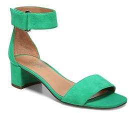 Franco Sarto Rosalina Ankle Strap Suede Sandals