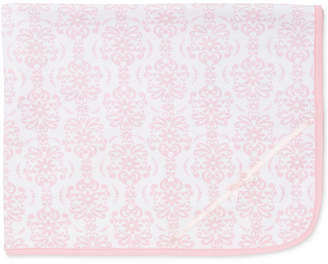 Little Me Baby Girls Damask Scroll Blanket