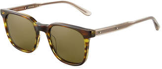 Bottega Veneta Plastic Square Sunglasses