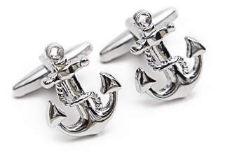 J.Ciro Watches Sliver Anchor Cuff Links
