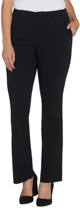 Brooke Shields Timeless BROOKE SHIELDS Timeless Petite Boot-Cut Stretch Woven Pants