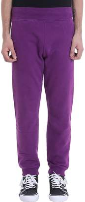 Napapijri Purple Cotton Pants