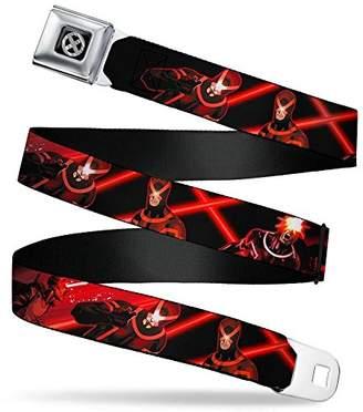 Buckle-Down Men's Seatbelt Belt X Cyclops Regular