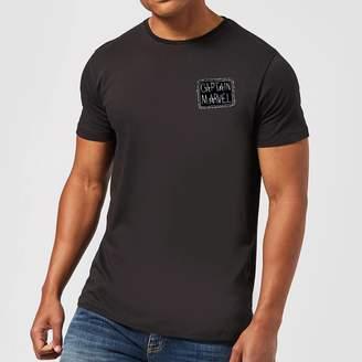 Marvel Captain Name Badge Men's T-Shirt