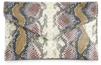 Urban Expressions Snake Clutch