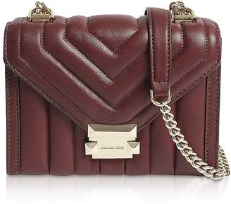ee782812660d0f Michael Kors Whitney Small Quilted Leather Convertible Shoulder Bag