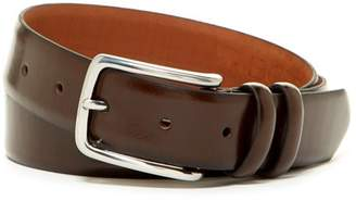Boconi Fens Double Loop Leather Dress Belt