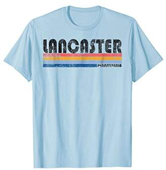 Mens Vintage 1980s Style Lancaster Pennsylvania T Shirt Large