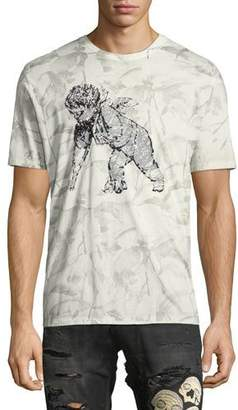 PRPS Leaf-Print Short-Sleeve T-Shirt