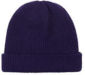 The Elder Statesman Women's Watchman Cashmere Cap-Blue