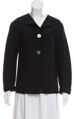 Saint James Wool Button-Up Cardigan