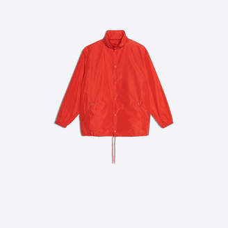 Balenciaga logo printed lightweight raincoat
