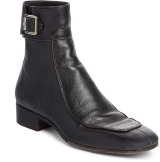 Saint Laurent Miles Buckle Cuff Boot