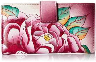 Anuschka Anna by Hand Painted Leather | Two Fold Wallet/Clutch |