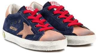 Golden Goose Kids colour block Star sneakers