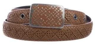 Bottega Veneta Perforated Leather Belt