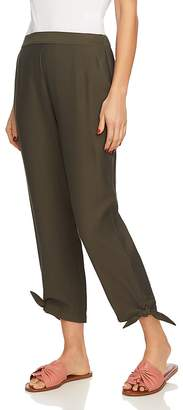 1 STATE 1.STATE Knot-Hem Cropped Pants