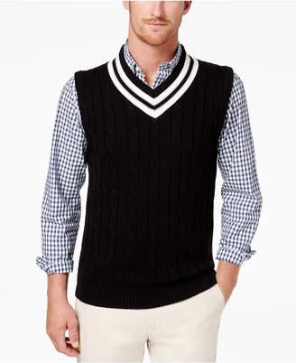 Club Room Men's Cricket Sweater Vest