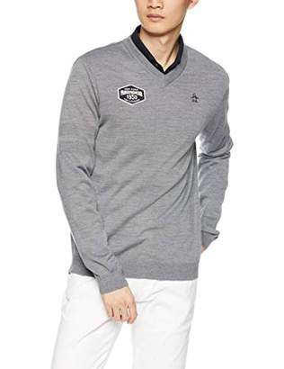 Munsingwear (マンシングウェア) - [マンシングウェア] セーター MGMMJL01 メンズ グレー 日本 L (日本サイズL相当)