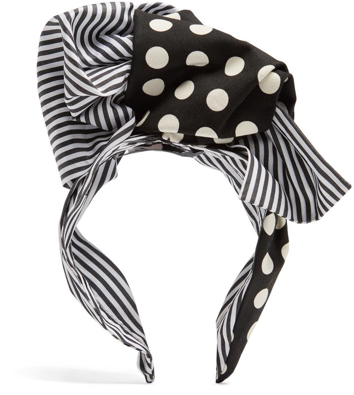 Dolce & GabbanaDOLCE & GABBANA Polka-dot print headband