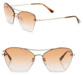 Tom Ford Annabel 58MM Cat Eye Sunglasses