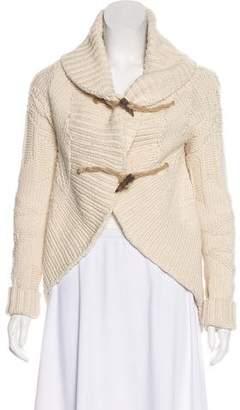 Ralph Lauren Wool Cashmere-Blend Knit Cardigan