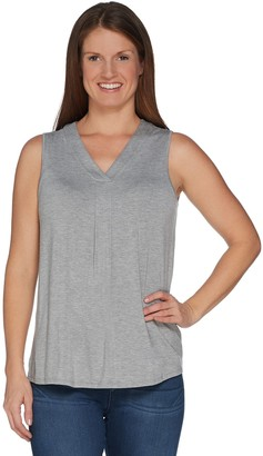 Laurie Felt V Neck Perfect Knit Tank Top