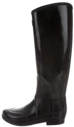 Hunter Round-Toe Knee-High Rain Boots