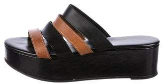 Robert Clergerie Platform Slide Sandals