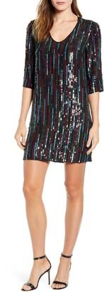 Velvet by Graham & Spencer Sequin Shift Dress