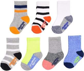 Osh Kosh Oshkosh Bgosh Baby / Toddler Boy 7-pack Marled Crew Socks