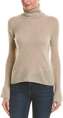 White + Warren V-Neck Cashmere Sweater