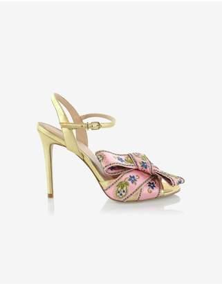 Cynthia Rowley Anjelica Bow High Heel Sandal