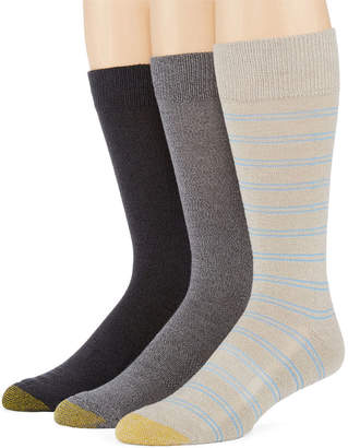 Gold Toe Mens 3-pk. ProTEC Performance Crew Socks