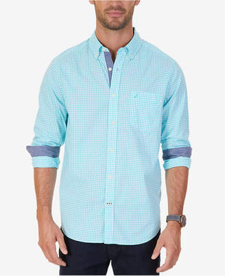 Nautica Men's Classic-Fit Stretch Gingham Shirt