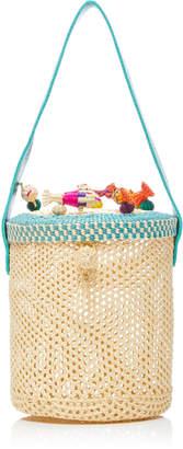 Nannacay Pelike Woven Raffia Bag