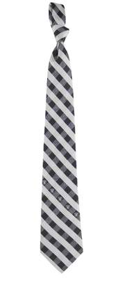 Kohl's Men's Oakland Raiders Plaid NFL Tie