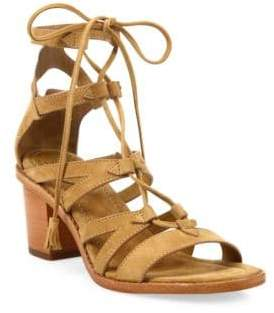 Frye Brielle Suede Gladiator Sandals