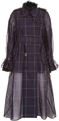 Sacai Techno Cotton Trench Coat