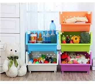 Zoomie Kids Holte 3 Baskets Kids Toy Organizer Zoomie Kids