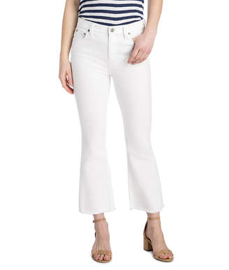 Vineyard Vines Kick Flare White Denim