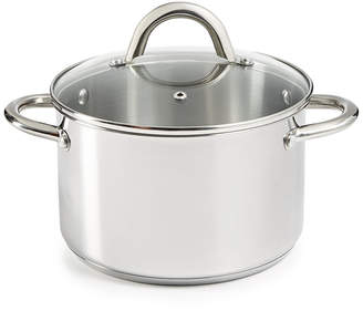 Tools of the Trade 4-Qt. Stainless Steel Soup Pot & Lid, Created for Macy's
