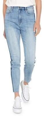 Buffalo David Bitton Skinny-Fit High-Waisted Jeans