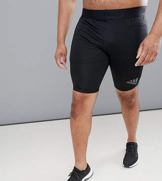 adidas Plus Training Compression Shorts In Black CF7299