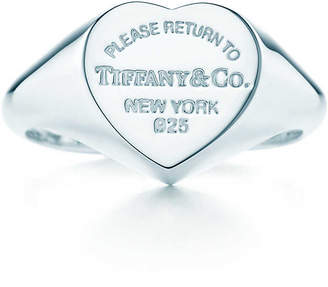 Tiffany & Co. Return to TiffanyTM heart signet ring